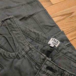 TNA Aritzia Slim Cargo Pants